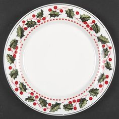Oneida Winter Wonderland at Replacements, Ltd Christmas China, 25 Days Of Christmas, Christmas Dishes, Christmas Makes, Winter Christmas, Christmas Ornaments, Christmas Table Settings, Christmas Tablescapes, Christmas Table Decorations