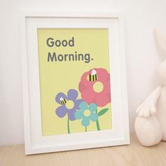 Kids Room Decor || Mothers Day Gift || Baby Shower – Personalized Printable Colourful Wall Art