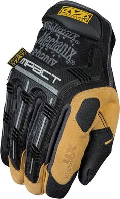 We combined shock absorption of the M-Pact® work glove with a durable Material4X® palm material for the ultimate tool. Sizes S-XXL MSRP $39.95