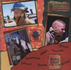 Firefighter's+Rookie+School - Scrapbook.com