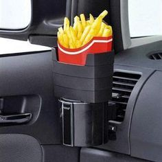 Car French Fry Holder - Great for French fry lovers like me, LOL!