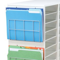 Wire Works Paper Holders - perfect for saving space and staying organized!