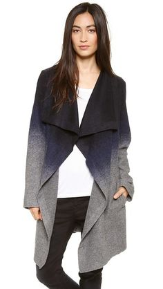 BB Dakota Deva Ombre Coat I love this coat!