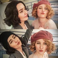 Queenie and Tina Goldstein cosplay fantastic beasts