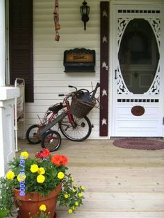 Summer Decorating ~ Porches & Patios