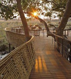 andBeyond Sandibe Okavango Safari Lodge, Botswana