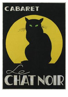 Cabaret Le chat noir ~ Paris