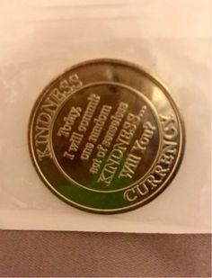 Random Acts of Kindness Coin