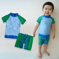 9001ba4beb NWT Vaenait Baby Toddler Kid's Boy Swimwear Swimsuit Bathing Suit Set