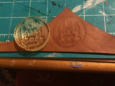 Dagorhir Discussion Forums -TUTORIAL: Casting your own leather stamps *picture heavy*