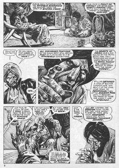 The Savage Sword Of Conan Issue - Read The Savage Sword Of Conan Issue comic online in high quality Filipino, John Buscema, Comic Page, American Comics, Comics Online, Horror Art, Illustration Art, Illustrations, Sci Fi
