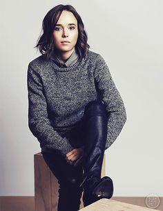Ellen Page photographed by Fabienne Pauli for the Zurich Film Festival 2015. HQ Photo via Ellen Page Daily!