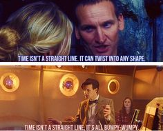 I think 9 was the best at explaining things... It actually made sense... But wibbly-wobbly is more fun to say!