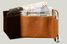 Hard Graft Bill Folder - A nice wallet. Leather Men, Soft Leather, Brown Leather, Hard Graft, Best Wallet, Gifts For Photographers, Fitness Gifts, Minimalist Wallet, Vide