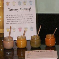 Baby Shower Game Yummy Yummy Baby Food Game by CardsByKooper, $12.00
