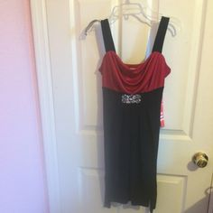 For Sale: Black And Red Dress for $10