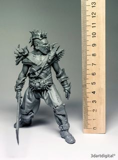 #3d Print     #3d model   Orc