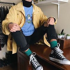 galaxy tshirt, nintendo t-shirt, space tshirt, boogzel apparel, aesthetic clothe… – stylee – Grunge Tumblr Outfits, Indie Outfits, Grunge Outfits, Outfits For Teens, Grunge Clothes, Tumblr Clothes, Tumblr Aesthetic Clothes, K Fashion, Korean Fashion