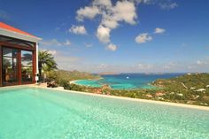 This is where we got married. Above St. Jean's Bay, St. Barths.
