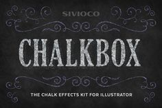 Chalkbox by Sivioco on @creativemarket