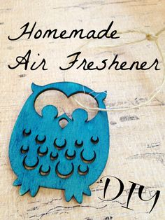 This simple recipe for a DIY Air Freshener is not only stylish but can be used creatively in the car, in drawers, as gift tags, stuffed in backpacks and more!