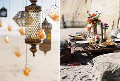 Outdoor Moroccan Party