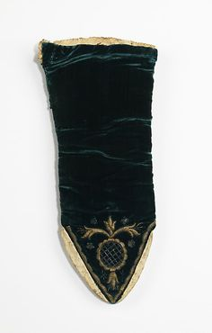 Mitts Date: 1680–1720 Culture: British Medium: silk, metal, leather, wool Dimensions: 12 in. (30.5 cm) Credit Line: Brooklyn Museum Costume Collection at The Metropolitan Museum of Art, Gift of the Brooklyn Museum, 2009; Museum Expedition 1921, Robert B. Woodward Memorial Fund, 1921 Accession Number: 2009.300.2676