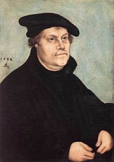 Martin Luther - Founder of the Protestant Religion, he posted his 95 Theses on the door of the Whittenberg church and began the Reformation.