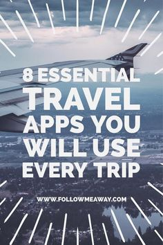 8 Essential Travel Apps You Will Use Every Trip - Reise Tipps Travel Blog, Travel Info, Travel Advice, Travel Guides, Travel Tips, Travel Hacks, Work Travel, Travel Packing, Summer Travel