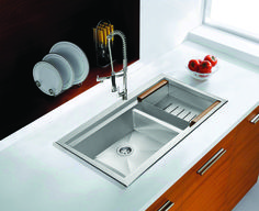 Home Depot ADKY 32 inch drop in stainless steel double basin sink