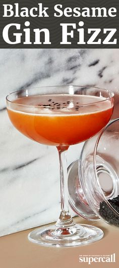 This rosy take on the Ramos Gin Fizz adds a touch of dark nuttiness to the bright, tangy and bittersweet cocktail.