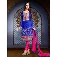 Salwar Suits Online - Buy Designer Salwar Kameez for Women with Upto Off - IndiaRush Salwar Suits Online, Designer Salwar Suits, Working Blue, Suit Fabric, Best Online Fashion Stores, Ethnic Wear Designer, Ethnic Fashion, Suits For Women, Couture