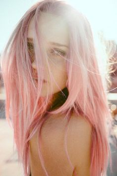 Inspiring Pastel Hair Color Ideas – My hair and beauty Pastell Pink Hair, Pastel Pink, Pink Dye, Pastel Colours, Bright Colors, Blush Pink, Hair Inspo, Hair Inspiration, Character Inspiration