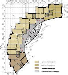 многоквартирный жилой дом планы - Поиск в Google