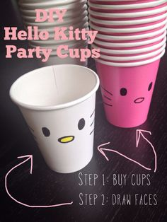 DIY HK party cups