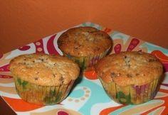Lekváros muffin csokidarabokkal