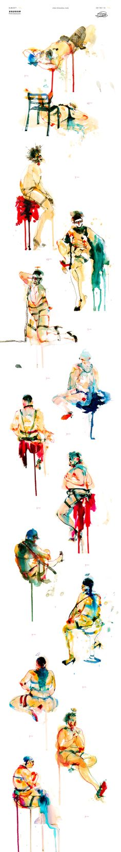 | 20140115 in 蛙蛙漫吧 | Subject:変態哆啦茄夢 Pervert Doranasumon / Illustration by Blaze Wu. / Model's photo:http://imgur.com/3TZubgg.jpg / photographed by 林小黃