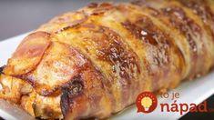 Kuracia pochúťka so syrom a cesnakom, zabalená v slaninke: 40 minút v rúre a už nemusíte riešiť ani večeru!