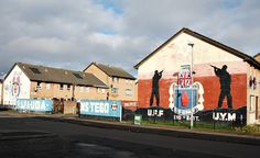 Murals in the city of Belfast - I'm on a hunt to find them all!