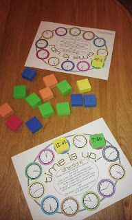 Time Game Freebie-Different versions available!!!