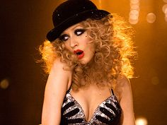 Christina Aguilera in Burlesque- attempted this last year. could make it better this year!