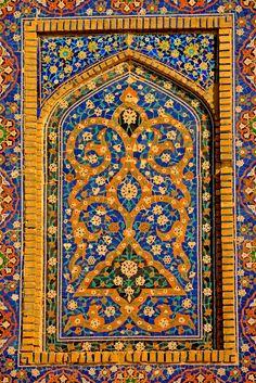 All sizes | Uzbekistan, Bukhara, Kalon Mosque, Islamic Tile Work | Flickr - Photo Sharing!