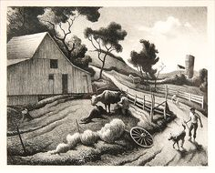 Thomas Hart Benton (American, 1889-1975) (7/10/2015 - Prints and Works on Paper: Online Bidsquare Auction)