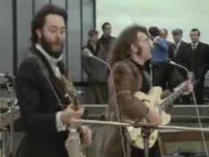 """Don't Let Me Down"" - The Beatles. Video From Rooftop Concert"