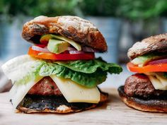 Julia & Libby's Mushroom Burgers