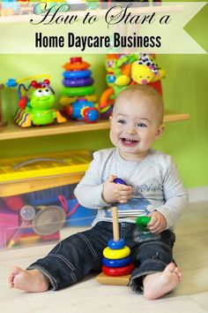 How to Start a Home Daycare Business - A Spark of Creativity - DiMagio Daycare Business Plan, Writing A Business Plan, Business Planning, Business Ideas, Business Cards, Small Business Association, Home Childcare, Daycare Rooms, Daycare Ideas