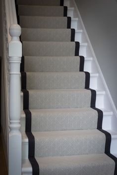Stair Rods For Carpet Runners Classy Living Room, My Living Room, House Stairs, Carpet Stairs, Paint Colors For Living Room, Paint Colors For Home, Hallway Decorating, Interior Decorating, Interior Design Living Room