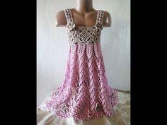 САРАФАН Ч- 3 SUN-DRESS Crochet Р-3 - YouTube
