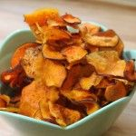 Sweet potato chips.  So much easier with a mandolin