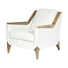 Ceara Arm Chair  Art Deco, Contemporary, MidCentury  Modern, Leather, Metal, Upholstery  Fabric, Armchair by Jean De Merry